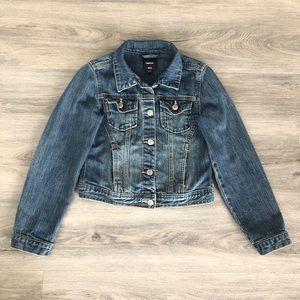 GAP Kids Girl Denim Jeans Jackets Medium Wash